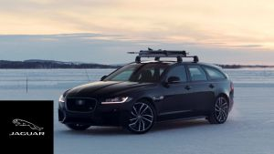 Jaguar XF Sportbrake | GUINNESS WORLD RECORDS™ Fastest Towed Speed on Skis