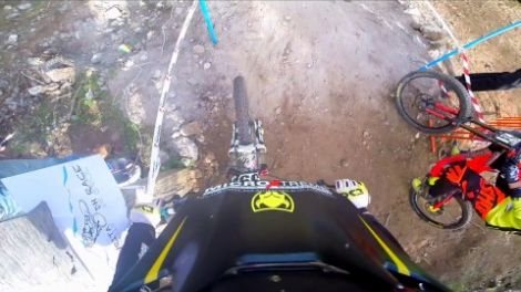 Kalavrita DH track - 8th Rd of the Greek DH Cup 2016 ( Final Run )