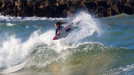 Surfing Phenom Caroline Marks Searches for Waves and Family Roots in Greece